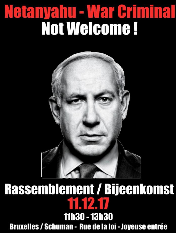 Netanyahou-not-welcome-upjb